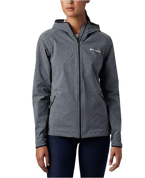 Columbia Women's Heather Canyon™ Hooded Softshell Jacket
