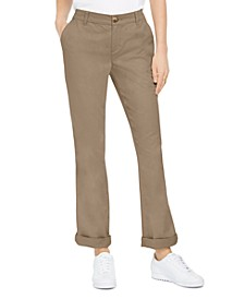 Bootcut Chino Pants, Created for Macy's
