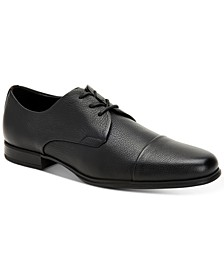 Men's Dominick Soft Tumbled Leather Oxfords