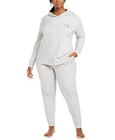 CK One Plus Size French Terry Lounge Separates