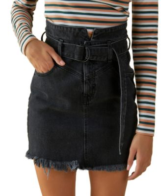 Belted 80s Skirt