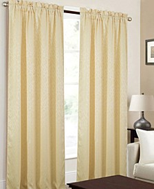 "Andora Textured Jacquard 53"" x 84"" Curtain Panel"