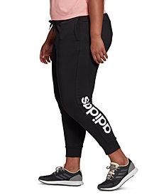 adidas Women's Plus Size Essentials Training Pants