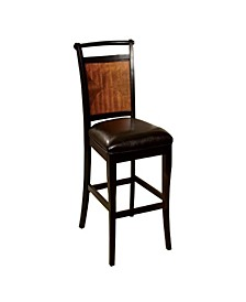 Transitional Style Counter Height Chair with Seat