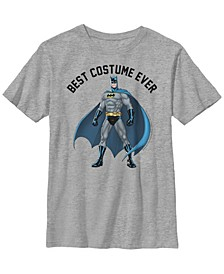 DC Comics Little and Big Boys Batman Best Costume Ever Short Sleeve T-Shirt