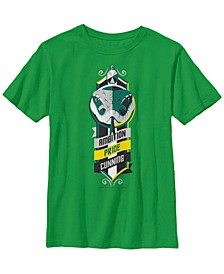 Harry Potter The Deathly Hallows Slytherin Ambition Pride and Cunning Little and Big Boy Short Sleeve T-Shirt