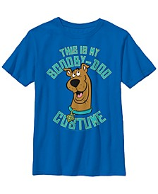 Scooby Doo Little and Big Boys This Is My Scooby Doo Costume Short Sleeve T-Shirt