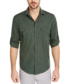 Men's Warren Long Sleeve Shirt, Created for Macy's