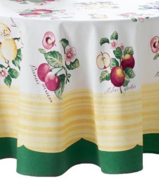 "French Garden 70"" Round Tablecloth"