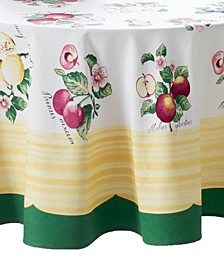 "French Garden 70"" Round Tablecloth"
