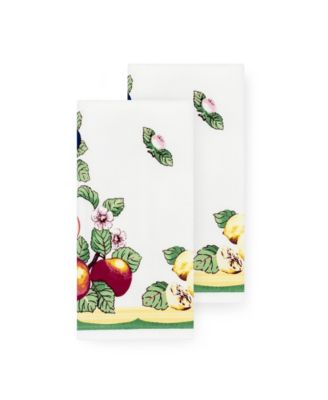 French Garden Kitchen Towels, Set of 2