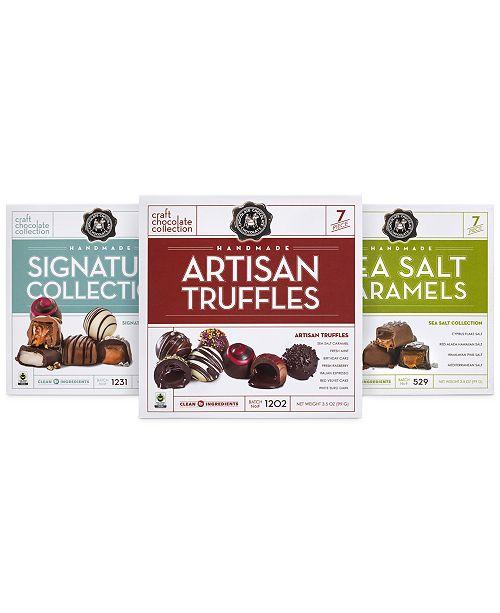 Chocolate Chocolate Chocolate Truffle & Caramel Collection