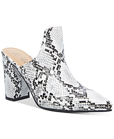 Wild Pair Carlita Mules, Created for Macy's