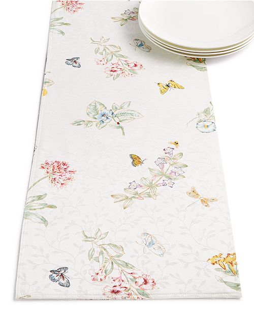 Lenox CLOSEOUT! Butterfly Meadow Runner