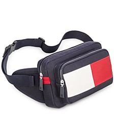 Men's Hayes Colorblocked Canvas Belt Bag