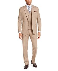 Men's Classic-Fit UltraFlex Stretch Textured Suit Separates