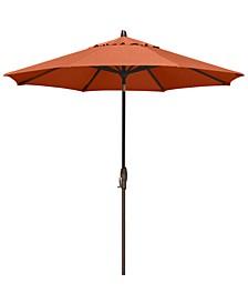 Sunbrella® Patio Umbrella, Outdoor Bronze 9' Auto-Tilt