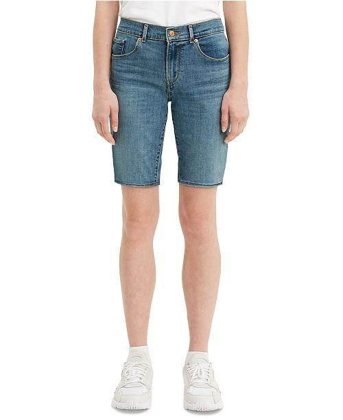 Levi's Women's Denim Bermuda Shorts