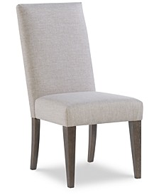 Facets Upholstered Back Side Chair