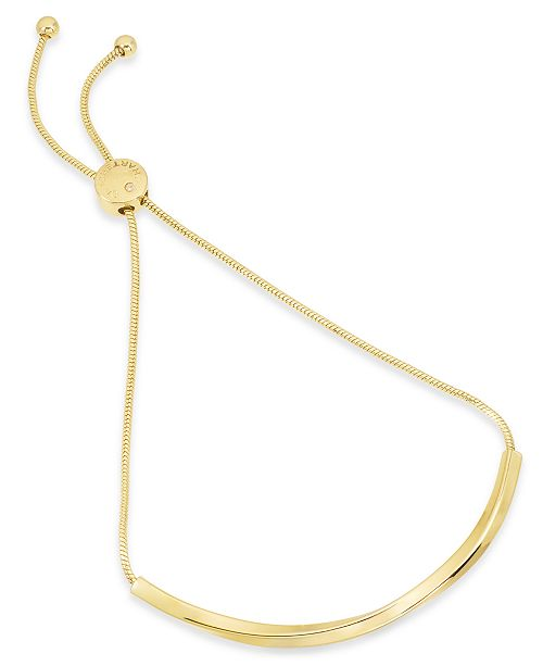 Charter Club Twist Bar Slider Bracelet, Created for Macy's