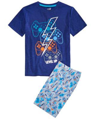 NEW Marvel Spider-Man Baby Boy 2 Piece Pajama Set Short Sleeve Top /& Pants