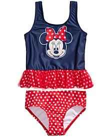 Toddler Girls 2-Pc. Minnie Mouse Tankini