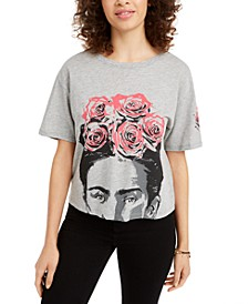Juniors' Frida Kahlo Graphic T-Shirt