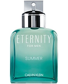 Men's Eternity Summer For Men Eau de Toilette, 3.3-oz.