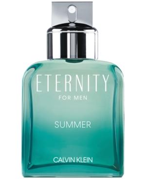 Calvin Klein Men's Eternity Summer For Men Eau de Toilette, 3.3-oz -  548851
