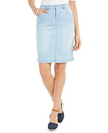Petite Denim Skirt, Created for Macy's