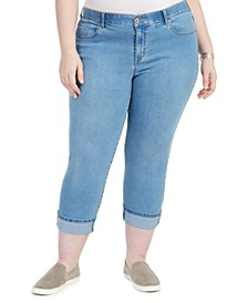 Plus Size Cropped Skinny Jeans, Created for Macy's