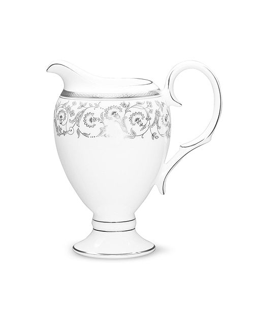 Noritake Summit Platinum Creamer, 8-1/4 Oz.