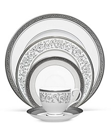 Dinnerware, Summit Platinum Collection