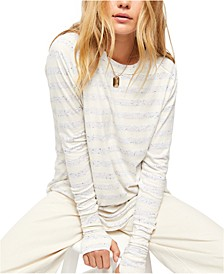 Arden Striped Long-Sleeved T-Shirt