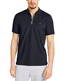 Men's Kors X Tech Moisture-Wicking 1/4-Zip Polo Shirt