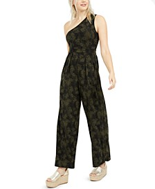 Maya One-Shoulder Jumpsuit