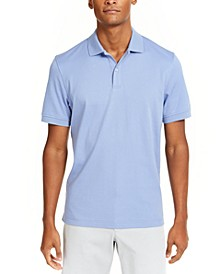 Men's Soft Cotton Interlock Polo, Created for Macy's