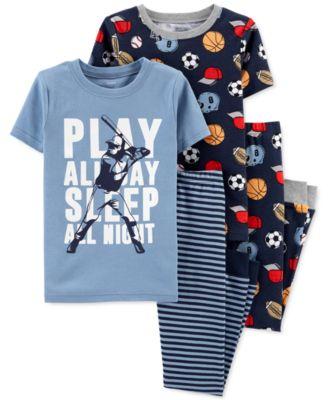 The Childrens Place Baby-Boys Rocketship 2 Piece Pajamas Set