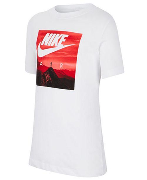Nike Big Boys Air Photo-Print Cotton T-Shirt