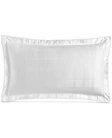 Windowpane King Sham, 550-Thread Count Supima Cotton, Created for Macy's