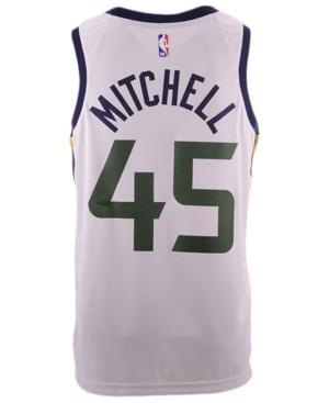 Nike Men's Donovan Mitchell Utah Jazz Association Swingman Jersey