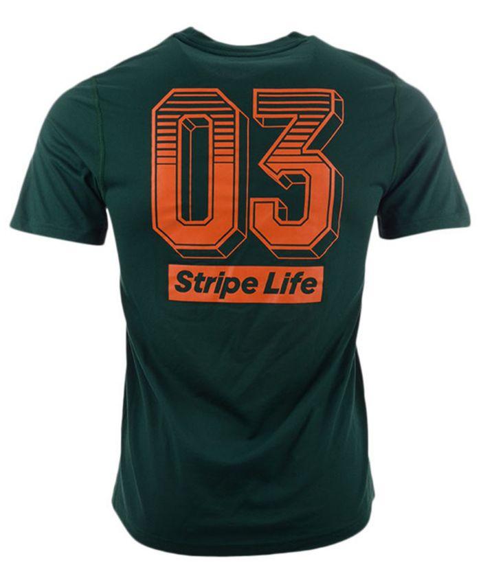 Adidas Men's Miami Hurricanes Creator T-Shirt & Reviews - Sports Fan Shop By Lids - Men - Macy's