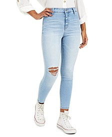 Juniors' Ripped Skinny Jeans
