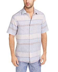 Men's Sunset Striped Shirt, Created for Macy's