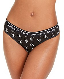 CK One Cotton Thong Underwear QF5733