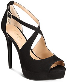 Charly Platform Heels, Created for Macy's
