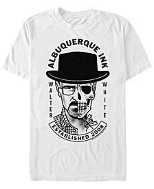 Men's Walter White Albuquerque ink Short Sleeve T- shirt