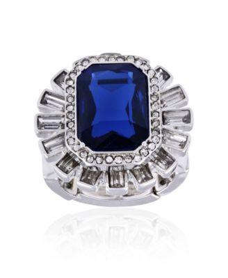Diamond Cocktail Stretch Ring