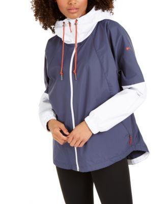 Women's Park Hooded Colorblocked Jacket