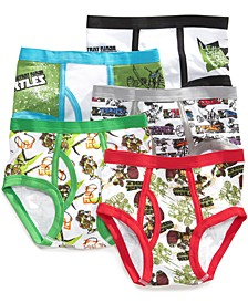 5-Pk. Cotton Briefs, Little Boys & Big Boys